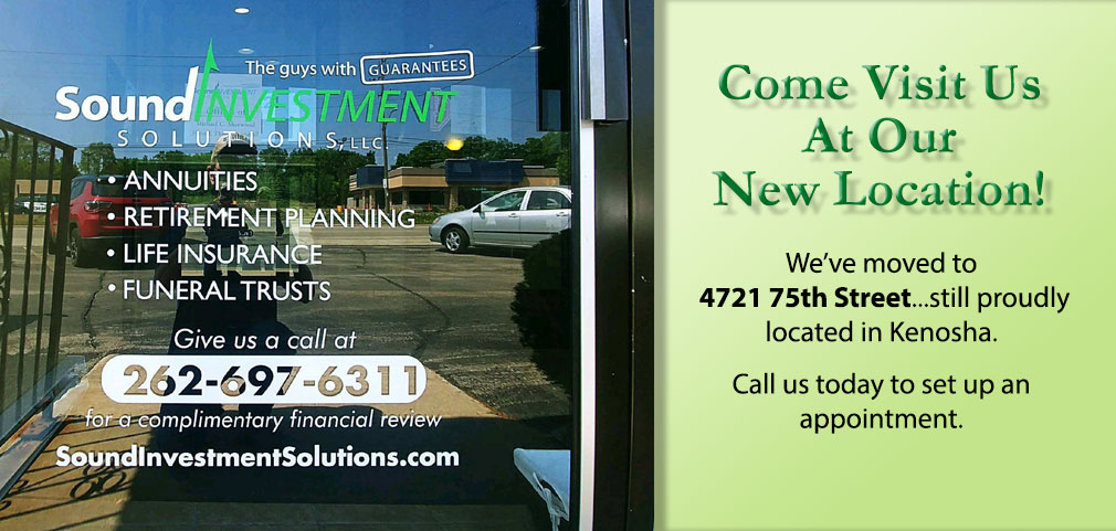 Sound Investment Solutions has moved